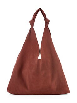 547bb3d3c3cb The Row - Bindle Double Knot Suede Hobo Bag