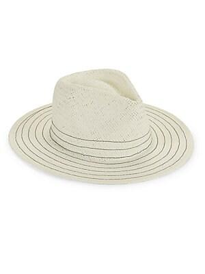 Missoni - Oversized Stripe Straw Hat - saks.com 33d4c30ed908