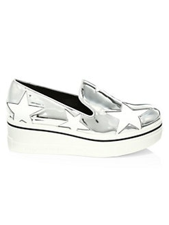 dc0482dba06 Binx Metallic Star Platform Wedge Sneakers SILVER. QUICK VIEW. Product  image. QUICK VIEW. Stella McCartney