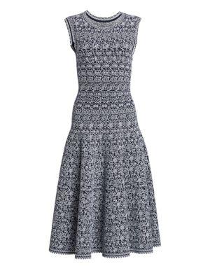 Ala A Labyrinth Sleeveless A Line Dress