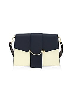 e7773c5789b538 Product image. QUICK VIEW. Strathberry. Crescent Leather Shoulder Bag