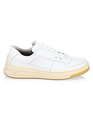 Perey Lace Up Leather Sneakers by Acne Studios