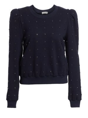 A.l.c Azalia Studded Sweatshirt