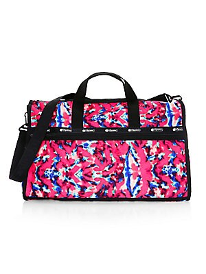 fd73ed782878 LeSportsac - Lesportsac x Baron Von Fancy Classic Tie-Dye Weekender Bag