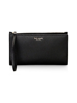 Sylvia Large Leather Continental Wristlet by Kate Spade New York