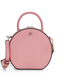 112fee96f5 Kate Spade New York. Andi Round Canteen Leather Crossbody Bag