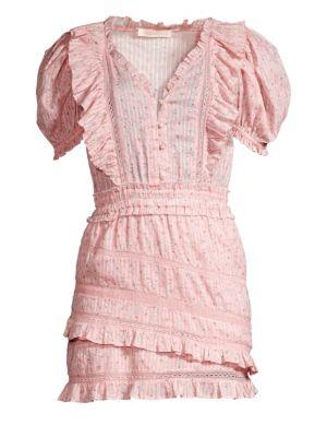 Loveshackfancy Sutton Ruffle Cotton Dress