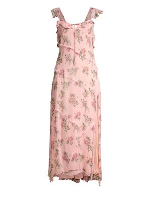 Loveshackfancy Sally Floral Maxi Dress