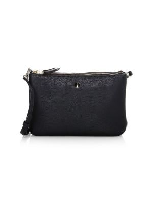 Kate Spade New York Medium Polly Leather Crossbody Bag Saks Com