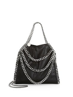 6128f449e2d3 QUICK VIEW. Stella McCartney. Mini Falabella Multi Chain Tote Bag