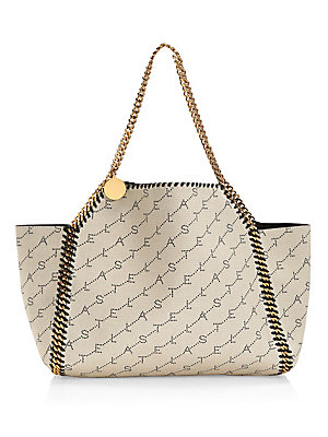 Small Falabella Canvas Tote Bag by Stella Mc Cartney