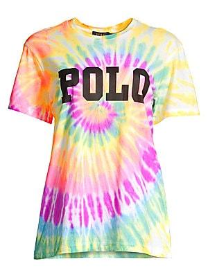 e0b15ec0 Polo Ralph Lauren - Big Logo Tie-Dyed Tee - saks.com