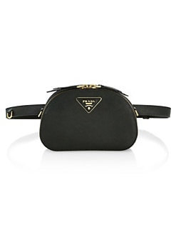 e30e7b609 Prada - Prada Odette Leather Belt Bag
