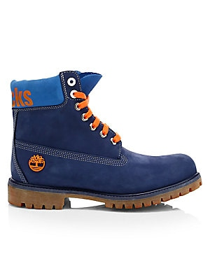 0bd0ff137ab3 Timberland Boot Company - NBA Collection New York Knicks Lace-Up Leather  Boots