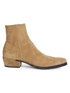 0ec0292cbfc927 Givenchy. Dallas Suede Ankle Boots