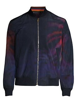 f24c54b85b QUICK VIEW. Paul Smith. Woven Palm Tree Bomber Jacket