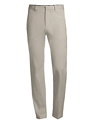 Image of A mainstay of the Theory suit collection, the Mayer pant is designed with a slim-straight leg and slash pockets. Woven in premium stretch wool with a water-resistant finish from one of Italy's finest mills. Wear it or on its own or with a matching Gansevo