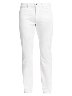dbaf6f71fad Hayden Rinsed Writer Stretch Cotton Trousers WHITE. QUICK VIEW. Product  image. QUICK VIEW. Theory
