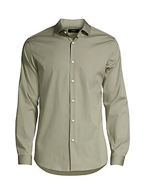 12006b66867 Belstaff - Somerford Denim Button-Down Shirt - saks.com
