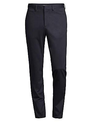 Image of Our most-relaxed trouser of the season, the Morgan pant is designed with an adjustable internal drawcord and slash pockets. Designed to be fully packable, with a self-stowing pouch, this pant comes in signature compact ponte, a smooth stretch cotton with