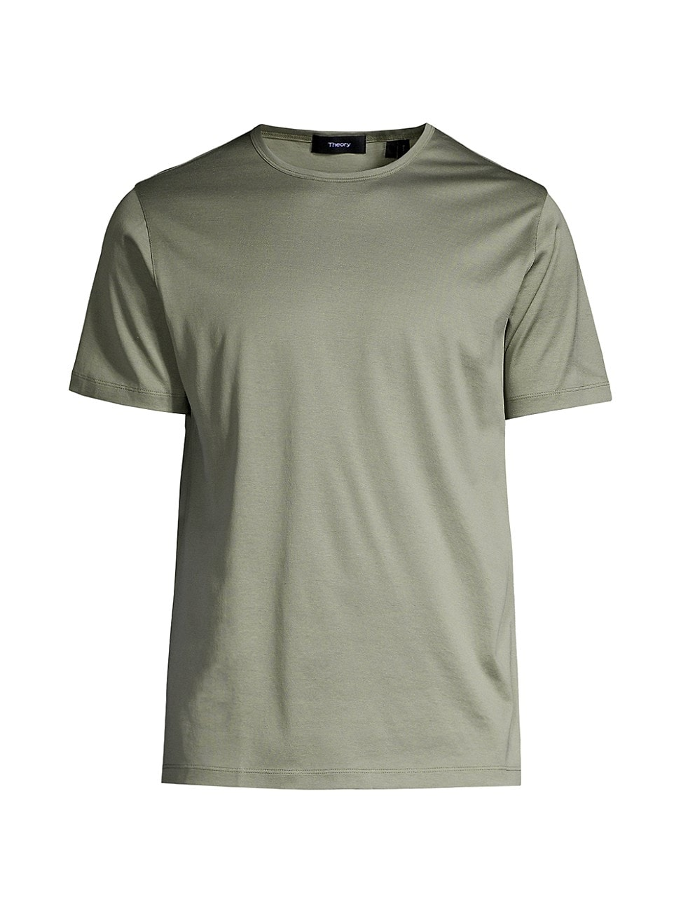 Theory MEN'S PRECISE LUXE COTTON T-SHIRT