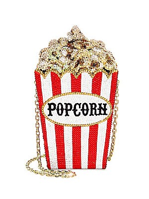 Crystal Popcorn Clutch by Judith Leiber Couture