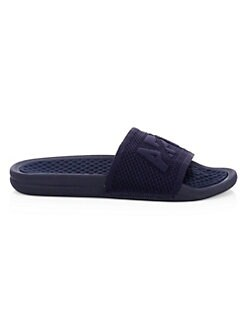 51d384d3731361 Techloom Logo Slide Sandals NAVY. QUICK VIEW. Product image