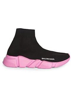 99a3f40243b1 Product image. QUICK VIEW. Balenciaga. Speed Knit Florescent Sole Sneakers