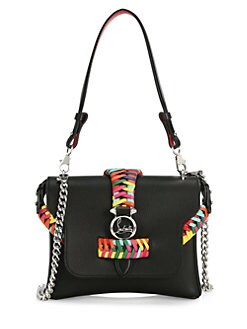 7f331b29185b QUICK VIEW. Christian Louboutin. Small Rubylou Braided Leather Crossbody Bag