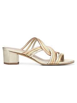 85ba67f20893 QUICK VIEW. Diane von Furstenberg. Jada Metallic Leather Sandals