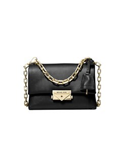 581a3e97a31e QUICK VIEW. MICHAEL Michael Kors. Extra-Small Cece Chain Leather Crossbody  Bag