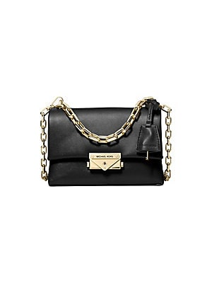 a317a693e080 MICHAEL Michael Kors - Carine Medium Quilted Snake-Embossed Leather ...