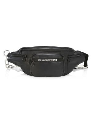 da63ce04596 Alexander Wang Large Attica Soft Leather Belt Bag In Black