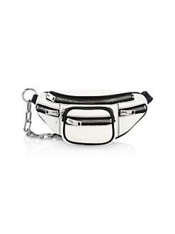 d4e774e63b QUICK VIEW. Alexander Wang. Mini Attica Leather Chain Convertible Belt Bag
