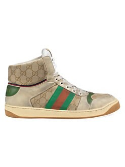 a1bab518dcc Men s Screener GG High-Top Sneaker BEIGE. QUICK VIEW. Product image. QUICK  VIEW. Gucci
