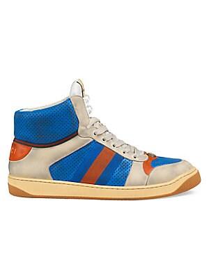 af4eac45f18 Gucci - GG Supreme High-Top Sneaker - saks.com