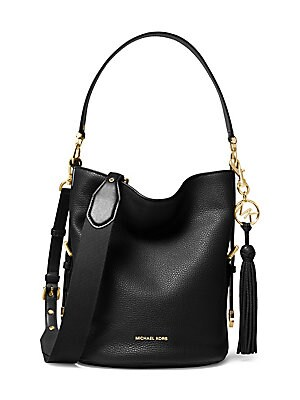 b4acec5ac04ce MICHAEL Michael Kors - Medium Brooke Pebbled Leather Bucket Bag