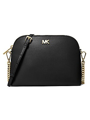 4481b53c39a8 MICHAEL Michael Kors - Jet Set Large Textured Leather Crossbody Bag ...