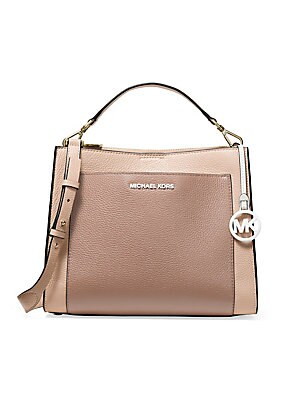 062d60ff9e8bac MICHAEL Michael Kors - Medium Gemma Colorblock Pocket Satchel - saks.com