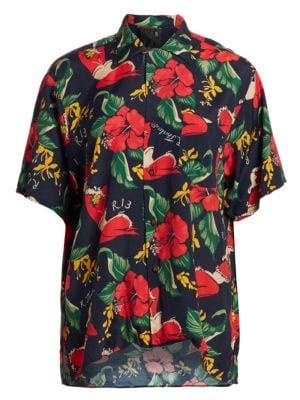 R13 T-shirts Hawaiian Shirt
