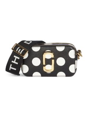 Marc Jacobs Bags The Dot Coated Leather Snapshot Bag