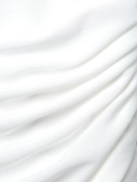 Norma Kamali Walter Mio Strapless Ruched One-Piece Swimsuit | SaksFifthAvenue