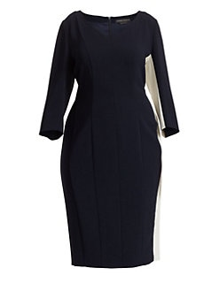1f3c278d4d4 Marina Rinaldi, Plus Size. Dentro Colorblock Dress