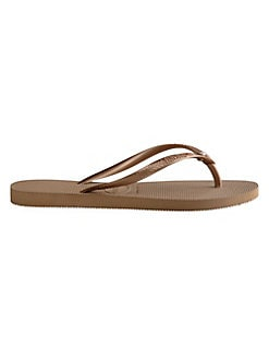 b1f9e754c Slim Crystal Glamour Flip Flops ROSE GOLD. QUICK VIEW. Product image. QUICK  VIEW. Havaianas