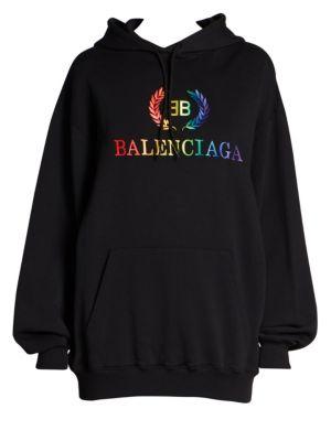 Rainbow Logo Hoodie