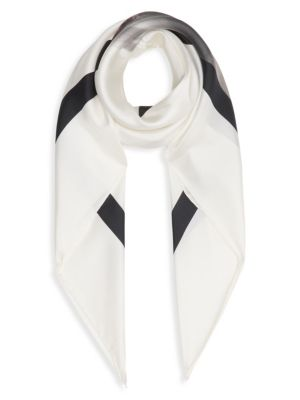 Burberry Unicorn Silk Square Scarf