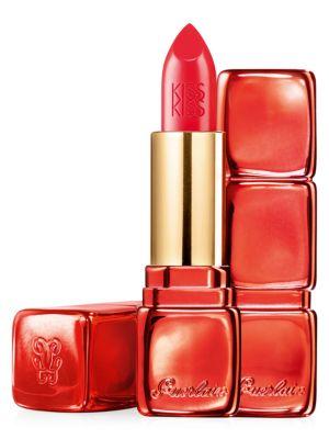 Guerlain Limited Edition KissKiss Creamy Satin Finish Lipstick