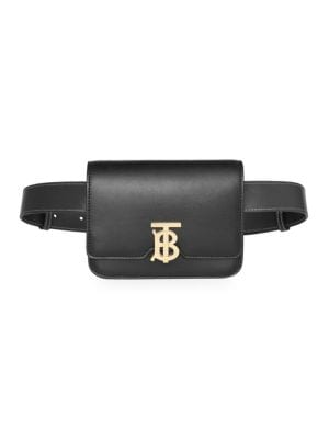 Burberry Tb Leather Belt Bag