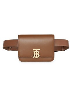 d04409ea7f57 QUICK VIEW. Burberry. Logo Leather Belt Bag