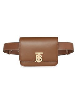 ca7507a9e408 QUICK VIEW. Burberry. Logo Leather Belt Bag